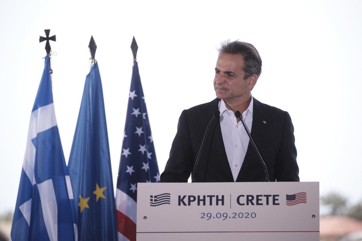 Η Ανατολική Μεσόγειος δοκιμάστηκε από την επιθετικότητα της Τουρκίας, με προκλητικές ενέργειες εκτός Διεθνούς Δικαίου, τις οποίες η Άγκυρα συνεχίζει και στα νερά της Κύπρου. Η ελληνική απάντηση σε όλες τις προκλήσεις δεν είναι άλλη από την υπεράσπιση των εθνικών μας δικαίων. https://t.co/xMbMM9TUhS