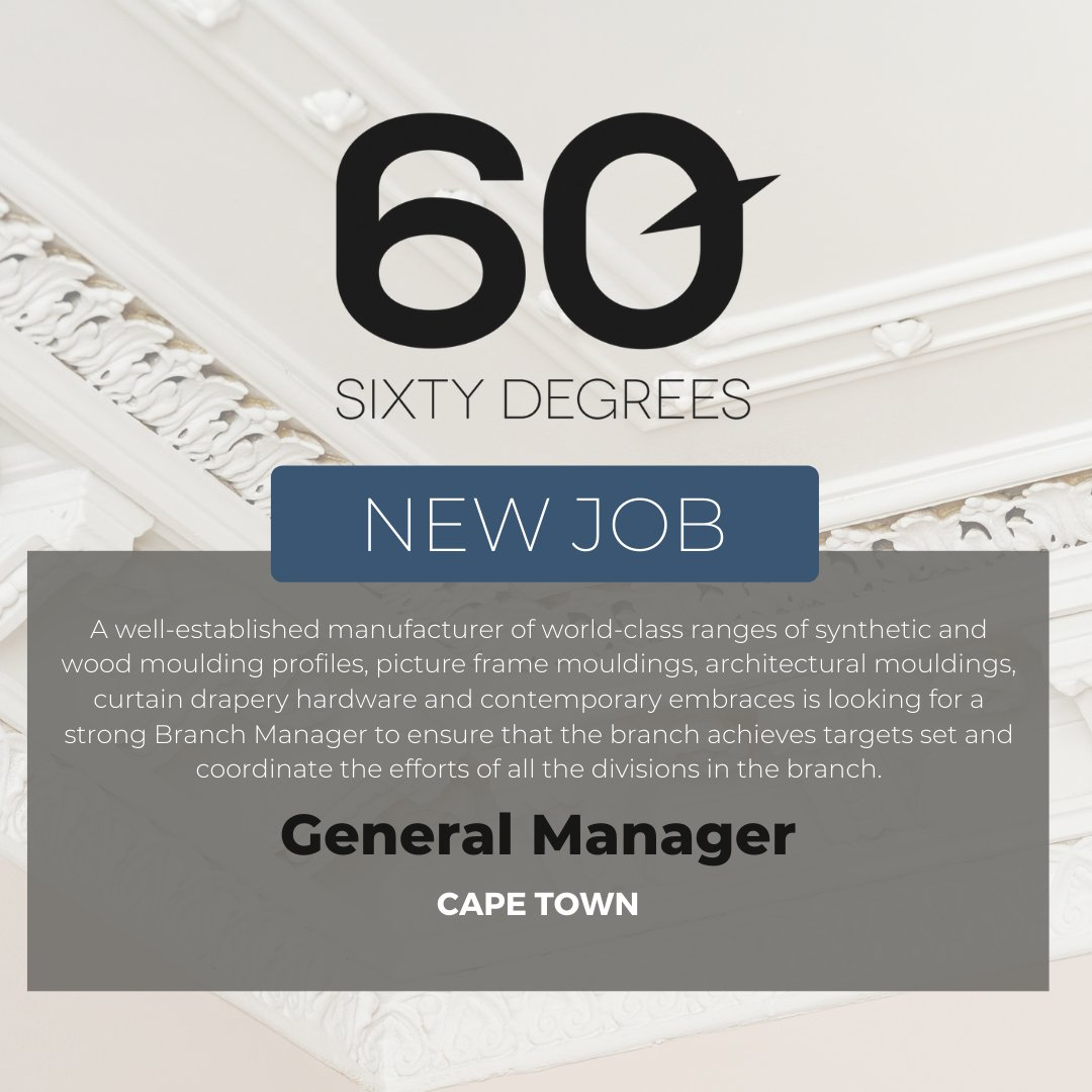 test Twitter Media - New #JobAlert - Branch Manager/General Manager in Cape Town  For more information & to apply, please click on the link below;  https://t.co/FJlpPuJPoe  #60Degrees #60DRecruiter #60Droles https://t.co/HffL9rHNNm