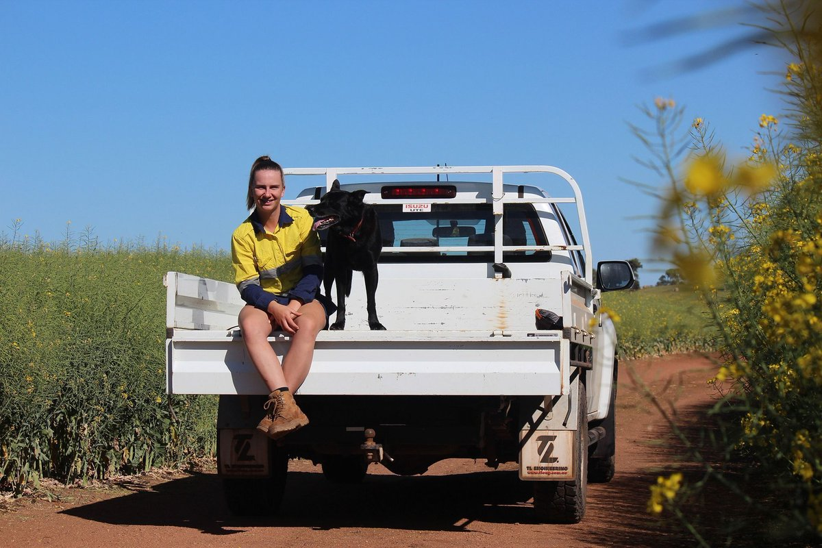 Thinking about relocating to the #Wheatbelt?🌾 Hear 19-year-old Shannon's story, she reckons you won't regret it! Perth-based Shannon was made redundant from her job so she #wanderedoutyonder for 6 weeks over seeding & she is still here. Read full story https://t.co/fxbjns7uKc https://t.co/ae4q31BWSS