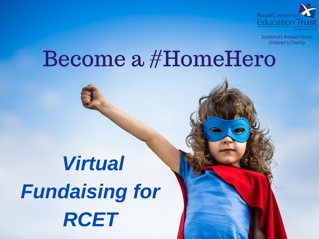Be a #ForceForGood & fundraise for us - virtually!   Become a #HomeHero for #ArmedForcesChildren & take part in one of our virtual fundraising challenges including the #TwoPointSixChallenge or #Run100toRaise100 challenge.  Sign up today: https://t.co/Mrv9iybycn https://t.co/CfE2BdD8ai