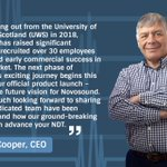 Image for the Tweet beginning: Richard Cooper, CEO, reflects on