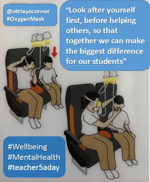 @ottleyoconnor and @ljmu_education - hope you like your new look #podcast interview!  Thanks for the graphic 👍  #Teachers - how to look after ourselves and each other in a crisis   #teacher5oclockclub #Wellbeing  https://t.co/9vfjXRWNsH https://t.co/XqFIpKumKW