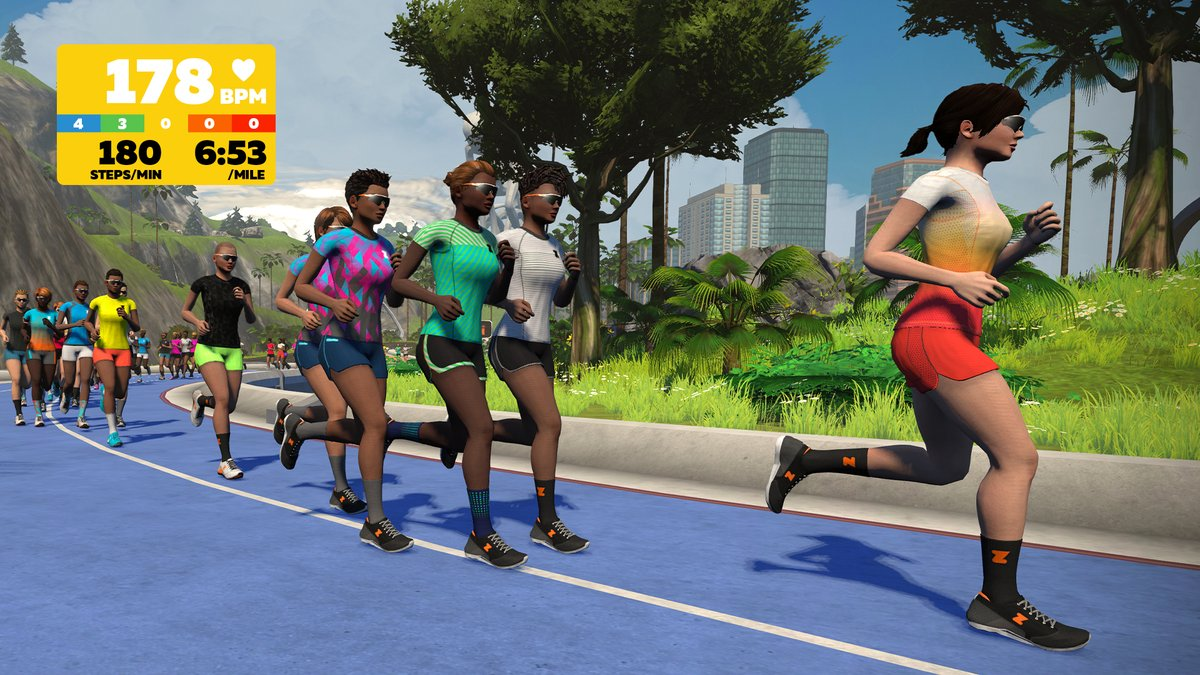Get your 🧡 racing this #WorldHeartDay! Discover all about heart rate zones on Zwift! 🏃‍♀️🏃‍♂️  More info: https://t.co/RNodjAFGFQ https://t.co/k4AXiPXeCZ