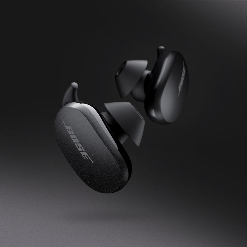 Meet the world's most effective noise cancelling earbuds. Bose QuietComfort Earbuds. Available now: https://t.co/DAMNERG95v #BoseEarbuds https://t.co/Jifez6rImr