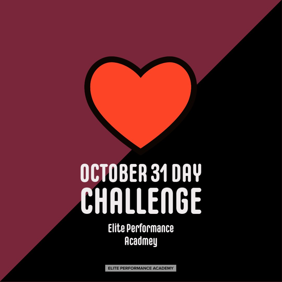 Are you ready to do our October 31 Day Wellbeing Challenge? Tag us to let us know how you are getting on!  #WeAreElite #EPAsport #Wellbeing #BeElite #31DayChallenge https://t.co/yyuaU5YUAn