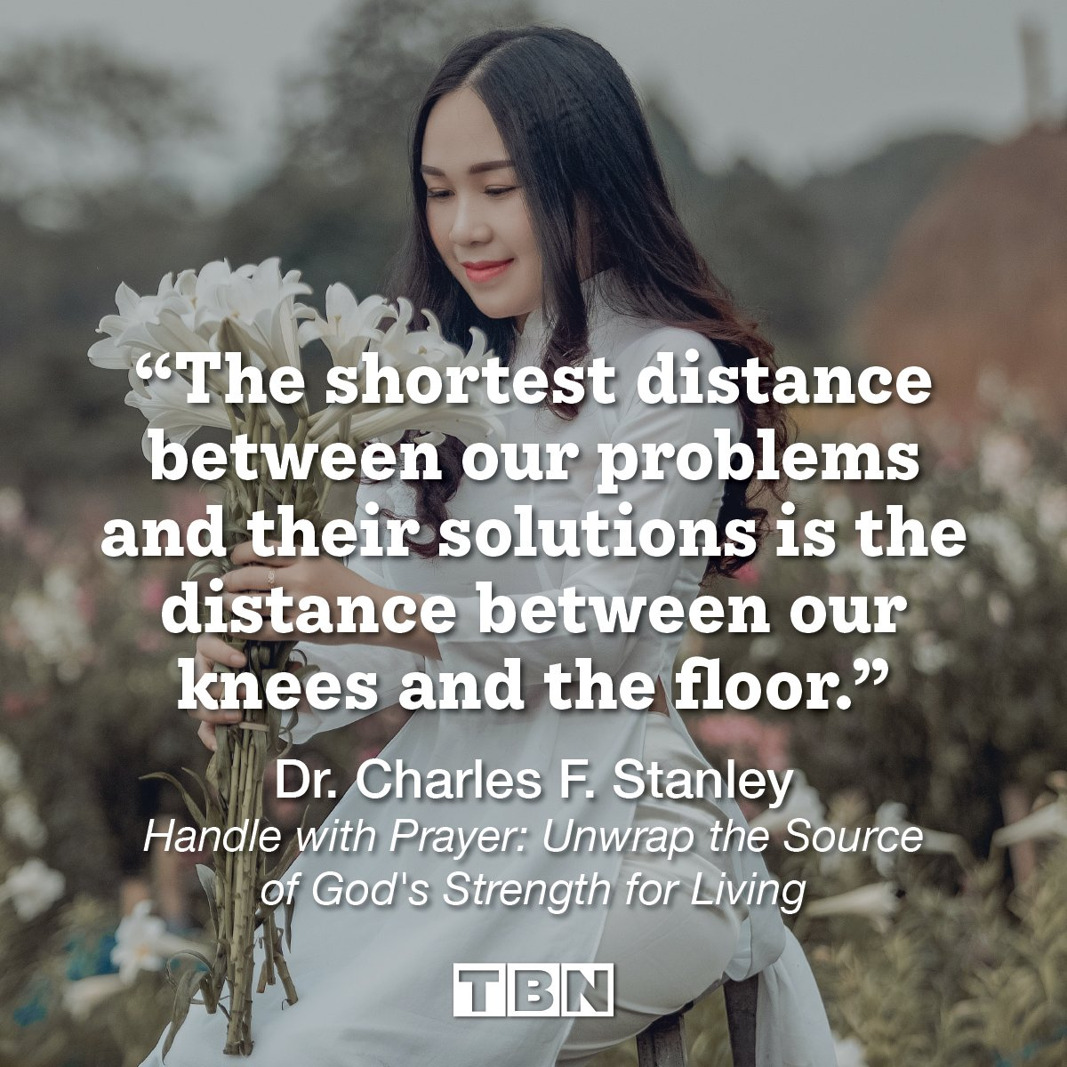 """""""The shortest distance between our problems and their solutions is the distance between our knees and the floor."""" - Dr. Charles F. Stanley  #QOTD #quoteoftheday https://t.co/CpMrIYV4Sg"""