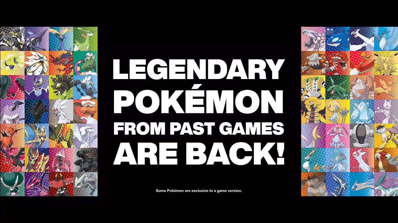 Serebii Net On Twitter Serebii Update Every Legendary Pokemon From Past Games Is Available In Pokemon Sword Shield Crown Tundra Https T Co Gdbxkhsvkt Https T Co 12w3vljgda