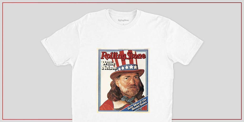The 1978 Willie Nelson cover was his first, introducing him as one of the country's true patriots – a title that still rings true today. Buy it here:  #RollingStoneShop