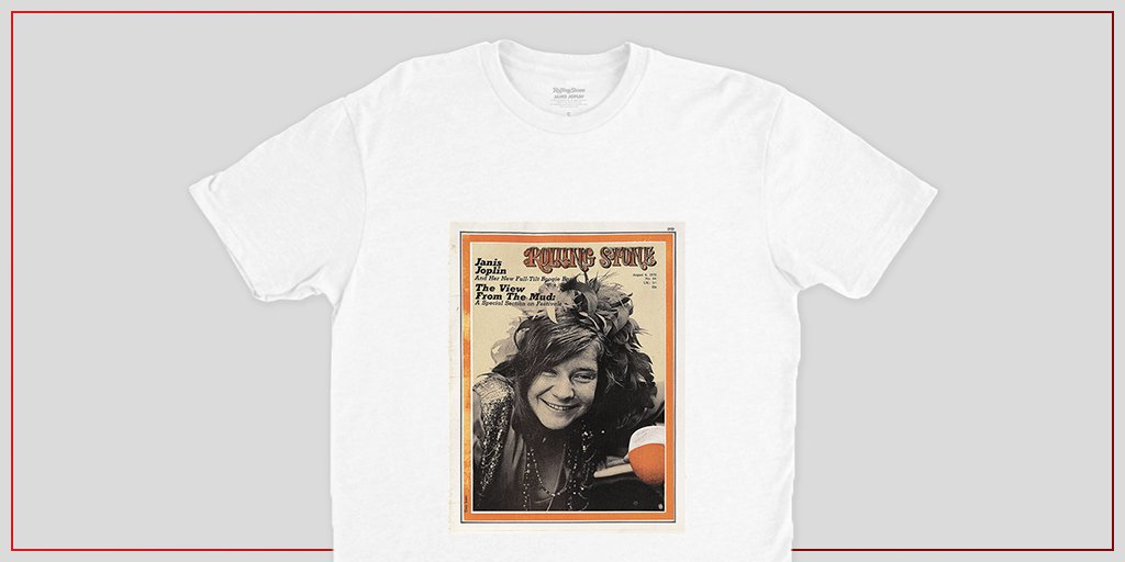 This cover was published the same year as Janis Joplin's untimely death at age 27 and endures as a reminder of her free spirit and infectious, melodic rasp. Nab a tee with Joplin's first 'Rolling Stone' cover here:  #RollingStoneShop