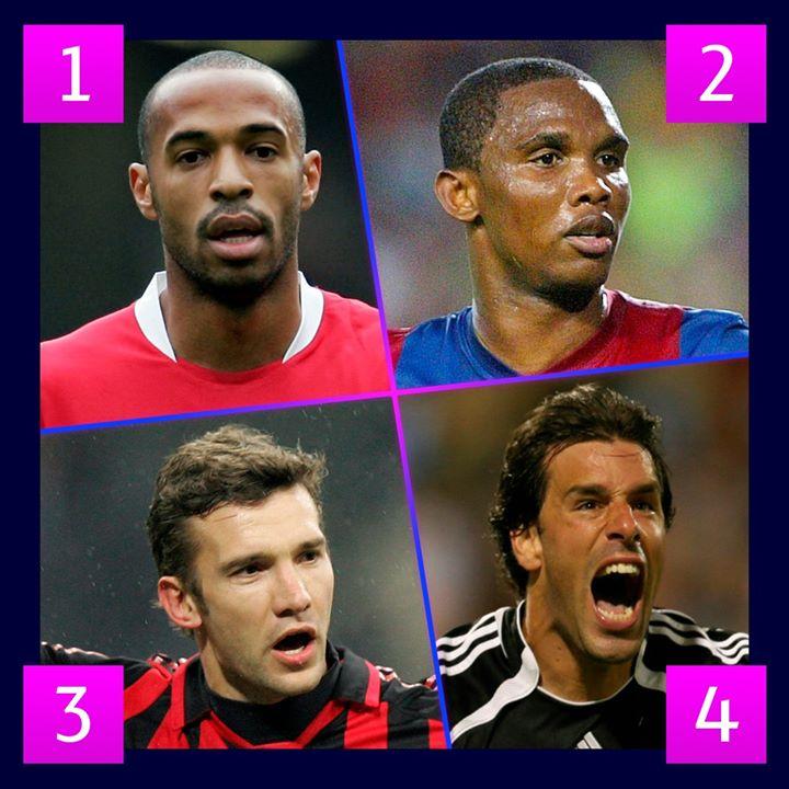 🤔 Imagínate a estos 4⃣ delanteros en el mejor momento de sus carreras...  ¿Con quién te quedarías? 🤯⚽  #UCL   https://t.co/yOQcuBjvAs https://t.co/3ABCF1sT9i