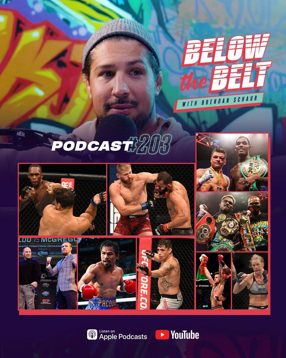 It's raining fight talk! ☔️ ▪️ Recapping #CharloDoubleheader & #UFC253 ▪️ Conor McGregor's DMs to Dana White ▪️ Previewing #Bellator247, #BellatorMilan & #UFCFightIsland4 ▪️ Covington vs. Masvidal, Jones' 205 return & more!  🎧: https://t.co/E9mNSkcjAw https://t.co/5KdCIanTUD