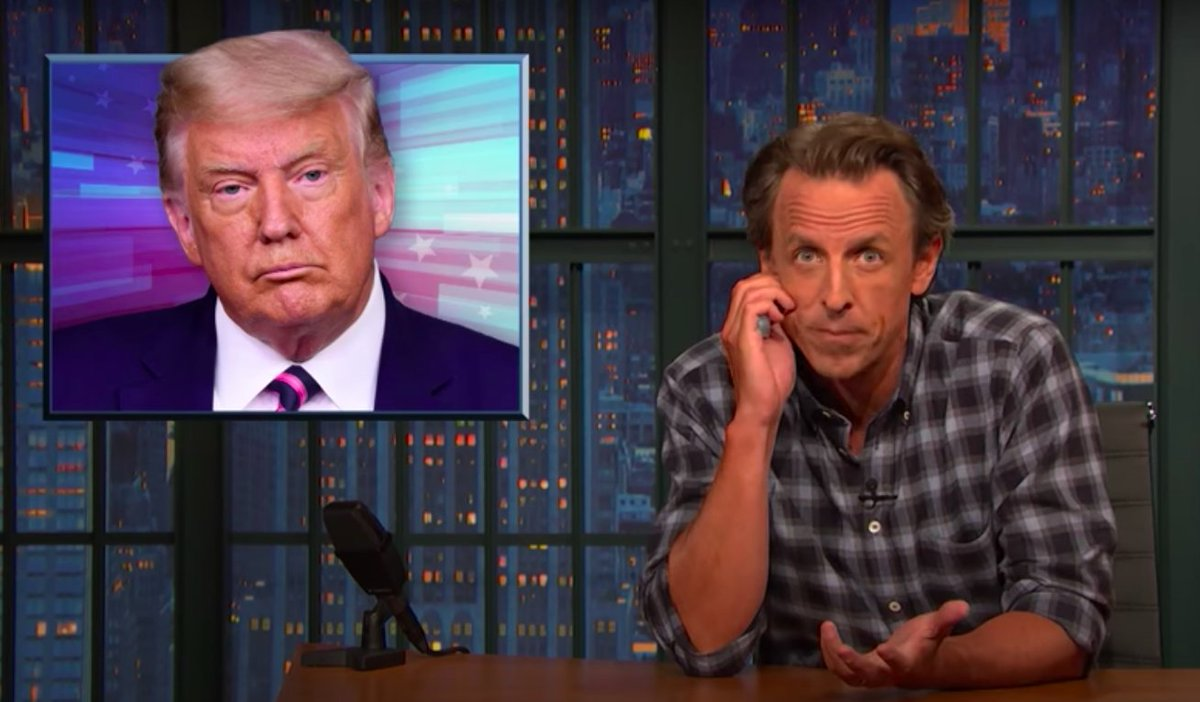 Seth Meyers dismantles Trump's claim that paying no tax makes him 'smart'