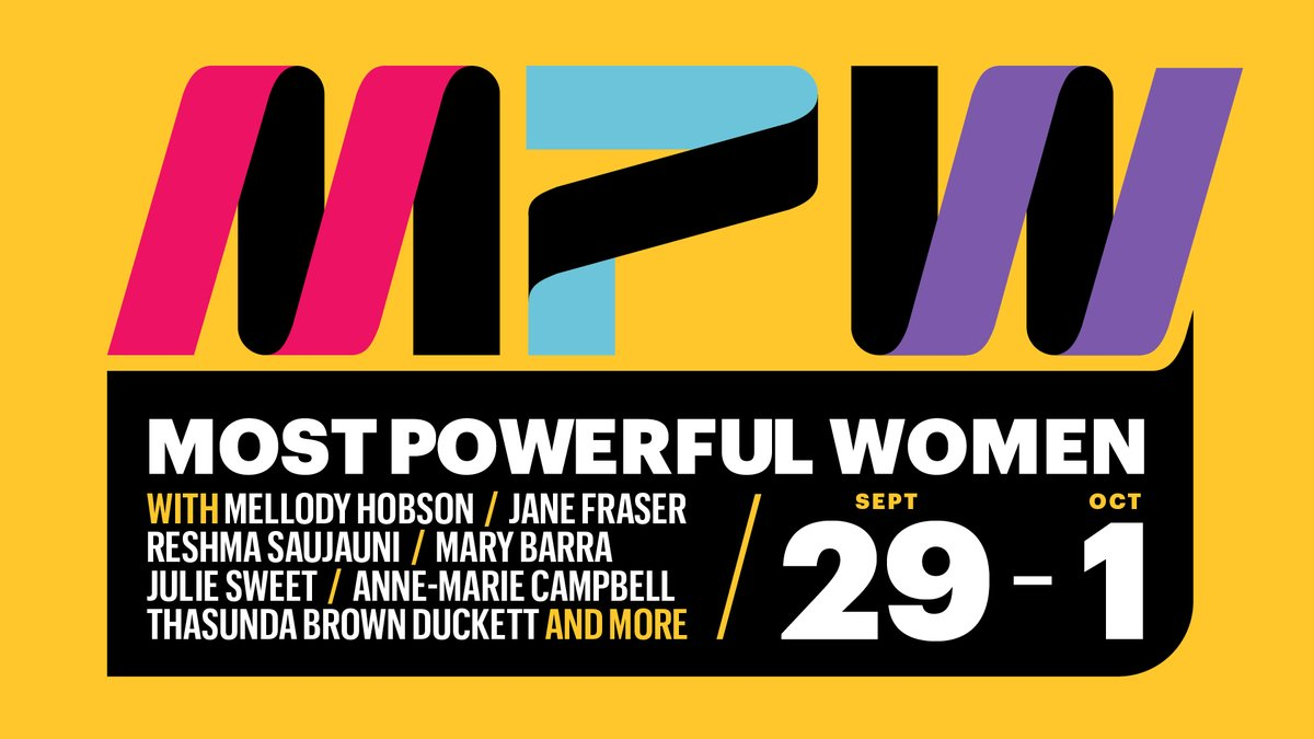 test Twitter Media - Today, we are kicking off the first-ever virtual #FortuneMPW Summit and gathering some of the Most Powerful Women in business and beyond.Check out the agenda here and follow @FortuneMPW for updates: https://t.co/nnc8gR0p8W https://t.co/lVKGc9i6QC