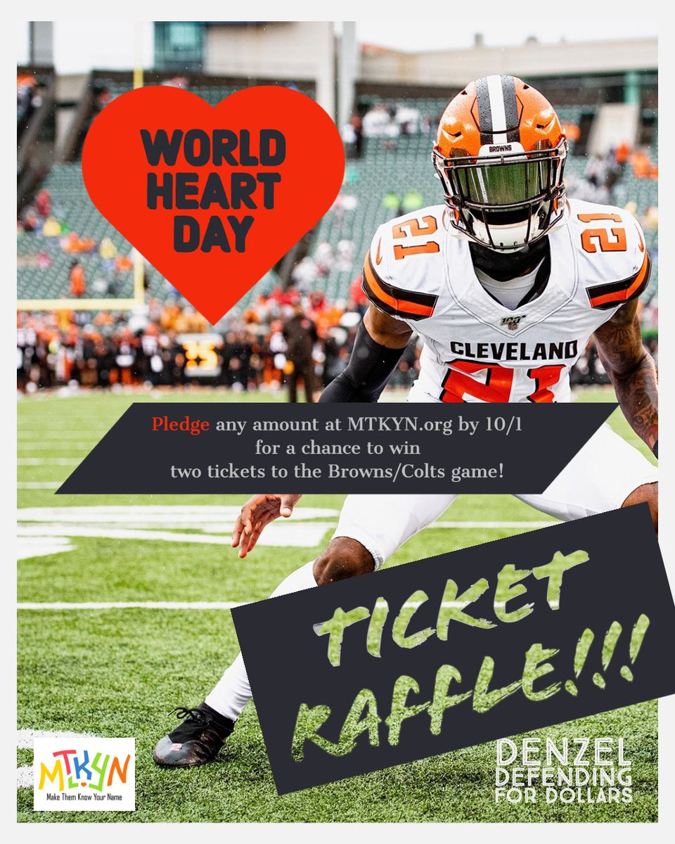 Hey #DawgPound, you'll want to get in on this! #MTKYN #HeartHealth