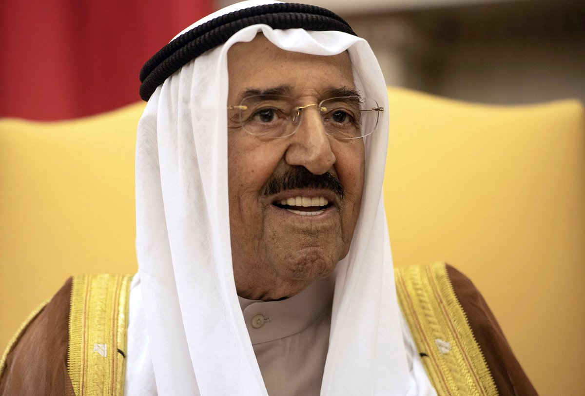 test Twitter Media - JUST IN: Kuwait's ruler Sheikh Sabah Al-Ahmed Al-Jaber Al-Sabah, a seasoned diplomat who tried to heal rifts between feuding Gulf states and rebuilt ties with former foe Iraq, has died. He was 91Read more via @business https://t.co/mzXMAodyZt https://t.co/WAJGe74Eze