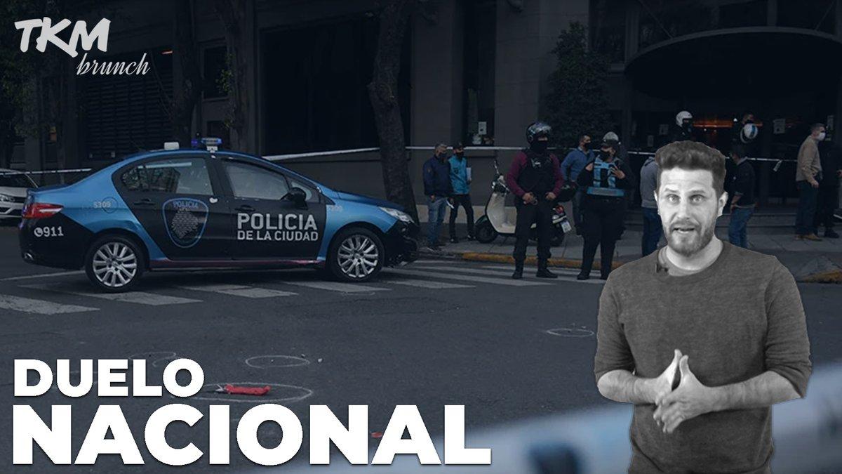 Image for the Tweet beginning: DUELO NACIONAL por el ASESINATO