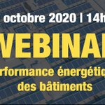 Image for the Tweet beginning: J-15 Webinar 📅 13 octobre