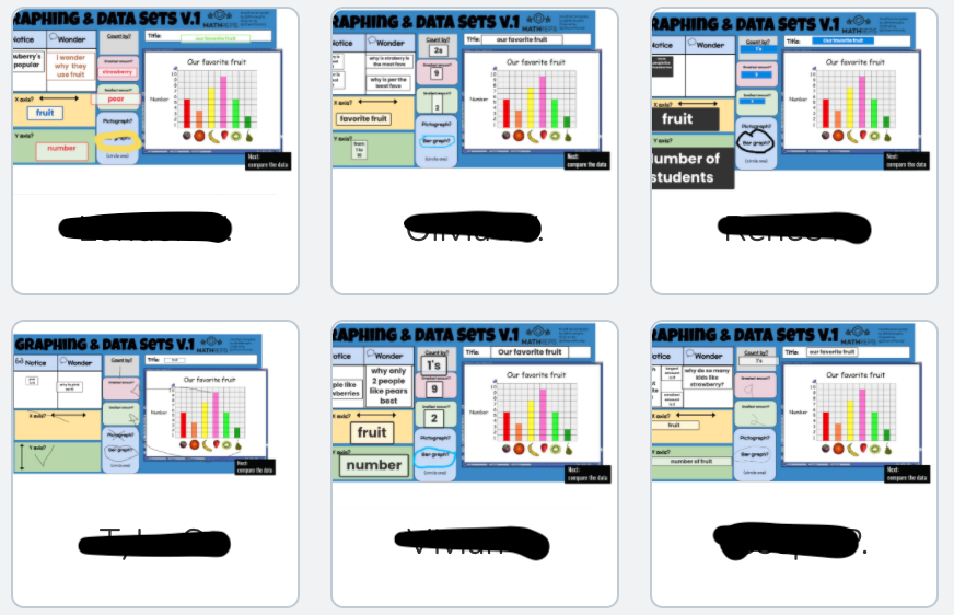 Having so much fun w/#MathReps this year-- stoked that we got this #EduProtocols going w/Ss! They 💙 the consistency of this low floor, high ceiling activity.  Here's my latest graphing rep as a @Seesaw activity for grade 2-3 #K2CanToo #CUSDRockstar https://t.co/VxUF8SFcuS https://t.co/cSP4ms7njc