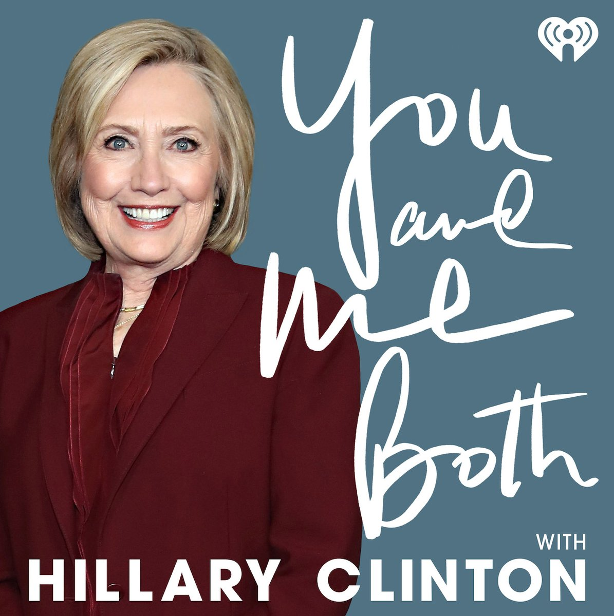 So excited about the launch of Hillary's new podcast #YouAndMeBoth. Listen in!