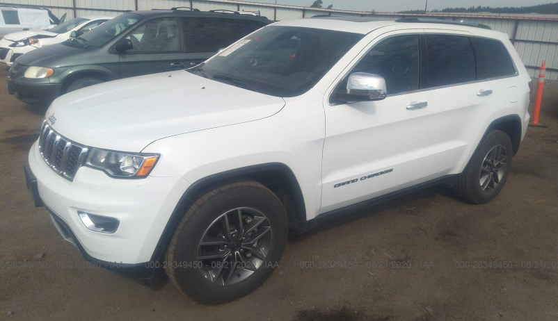 2020 Jeep Grand Cherokee Limited 4x2 Used (CLEAN), Bid: $22100 https://t.co/CGu5thqcPQ #Jeep #GrandCherokee #SUV #ItsUpForAuction  #autoauctions #BestInSalvage #AutoAuctions #AuctionCars #AuctionRides #ProjectCars #FixIt #SalvageAuctions #HotAuctionAction #HowMuch https://t.co/ufvxStg9Fi