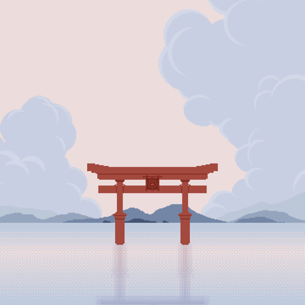 Memories of Japan #1 for @Pixel_Dailies  #japan • #tori • #memories • #art • #pixelart • #pixel_dailies • #impressive https://t.co/qMCA4WDaAp