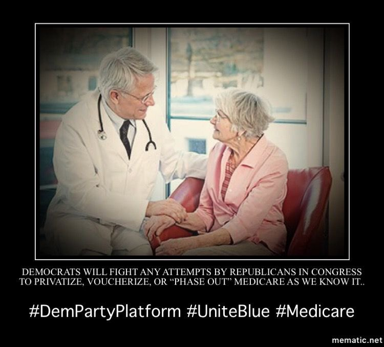 #Democrats are categorically opposed to raising the  #Medicare retirement age.10/11  #DemPartyPlatform  #Healthcare