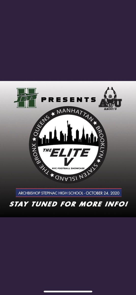It's up‼️🔥 Blessed to be invited to #TheEliteV showcase. NYC about to show out for sure💯 @aboutunyc @Coachlanese13 @CoachAlexCoombs @alexgleitman