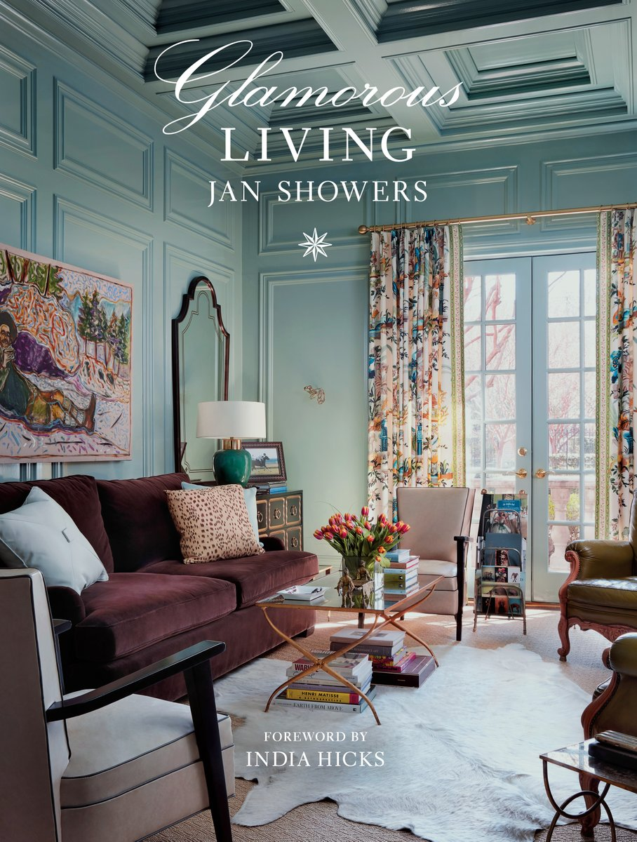GLAMOROUS LIVING by @JanShowers is a room-by-room journey through some of the most luxurious and glamorous abodes in America! Including 20 never-before-photographed homes, this is a designers dream book. #BookBirthday bit.ly/2S3QAFg