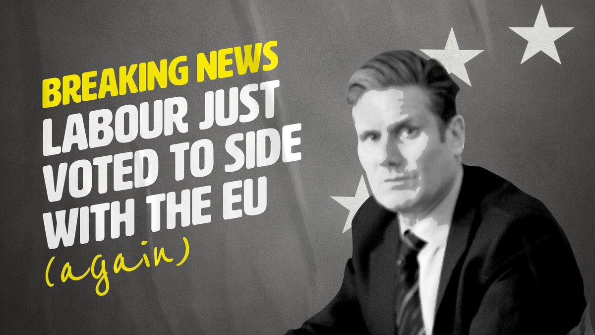 Voting against breaking international law is not the same as voting 'to side with the EU'.   Since when has the test for patriotism been the willingness to break international law? (It's a test Mrs Thatcher would've failed.) https://t.co/aUnBa7JnY5
