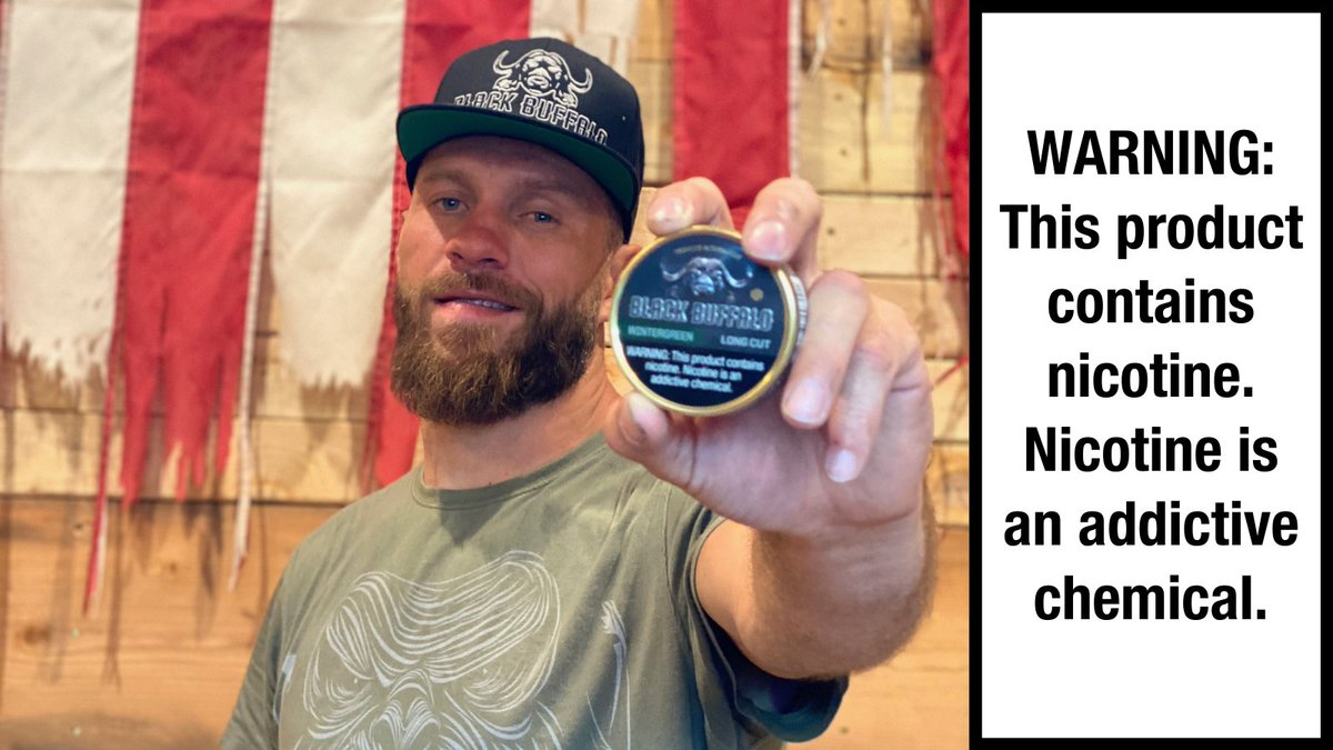 .@BlackBuffaloInc is a badass tobacco alternative!! They're running an end of Month sale on Long Cut! Use promo code LONGCUT10 to save a buck or two https://t.co/7WlFfKkyPI https://t.co/MDu6gV3qOi