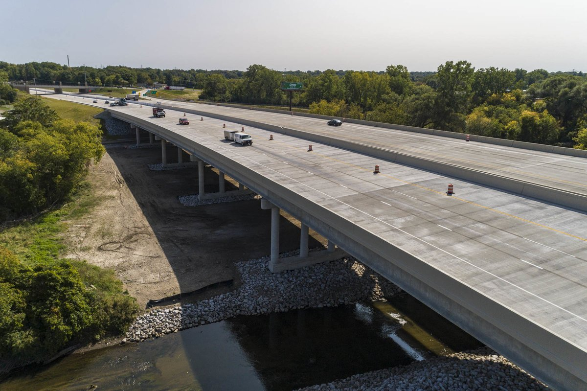 Image posted in Tweet made by Michigan DOT on September 29, 2020, 7:56 pm UTC