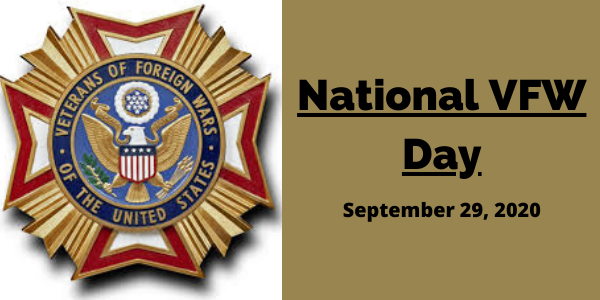 Today, on National VFW Day, we pause to celebrate the brave men and women who dedicated their lives in service of this nation overseas. Thank you for your service and your patriotism! https://t.co/gtwM0MHrhU
