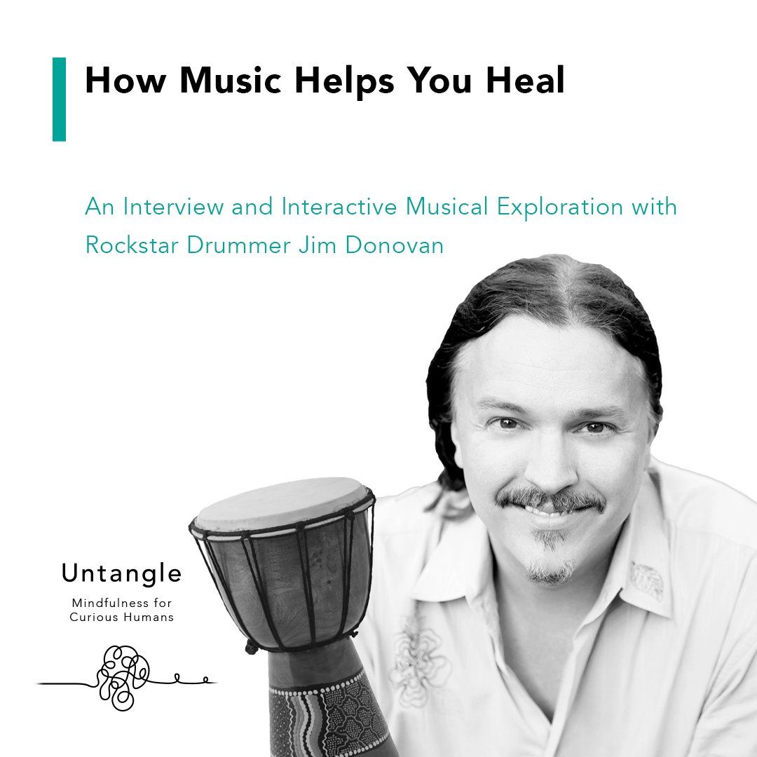 This week on Untangle, Jim Donovan shares with us how sound can help stimulate the vagus nerve, how to harness the power of sound to get us through the best and worst of times, and guides us through interactive sound exercises. #podcast #untangle  https://t.co/aBhHTLZ6Ta https://t.co/SLUg7jsrSf