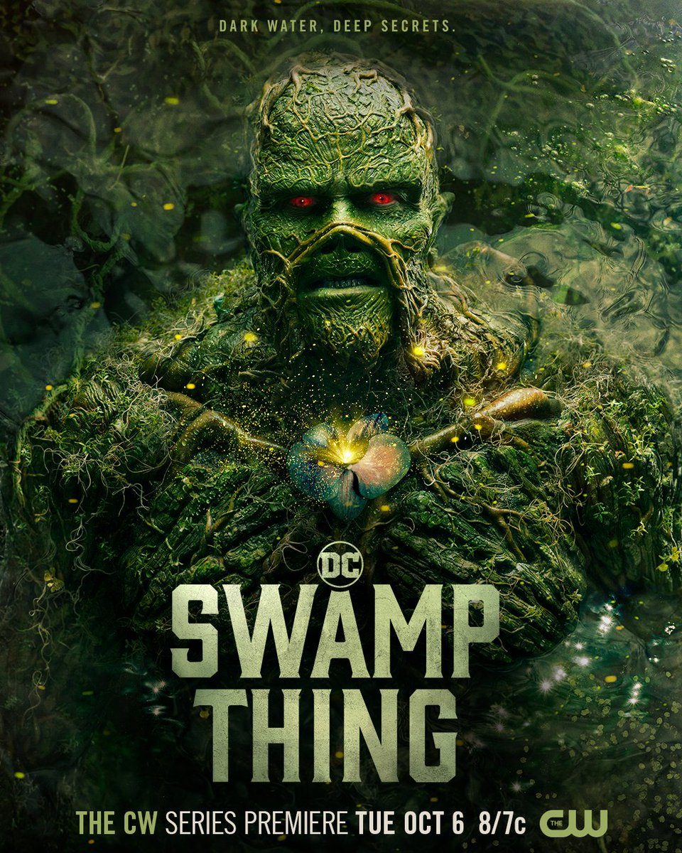 The swamp's secrets will change everything. #DCSwampThing premieres Tuesday, October 6 at 8/7c. Stream next day free only on The CW! https://t.co/XgXVx7qwKB