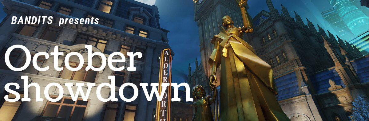 October Showdown is happening this weekend. Good luck to all the teams! https://t.co/XAsenMSDJ9