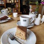 Image for the Tweet beginning: Coffee break in Budleigh Salterton,