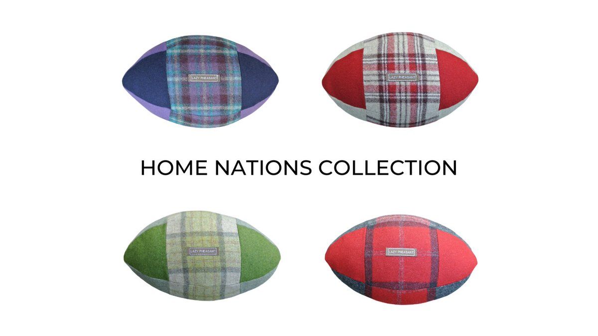 25 Days to go....6 NATIONS!!  The 2020 @sixnationsrugby is restarting in 25 days!   Are you ready?  Get ready for the scrum on the sofa with Lazy Pheasant - HOME NATIONS COLLECTION. 🏉🏴🏴🏴 🇮🇪 🏉  #rugby #6nations #GuinnessPro14 #teamscotland #teamengland #teamwales #teamireland https://t.co/RprjIwowkU