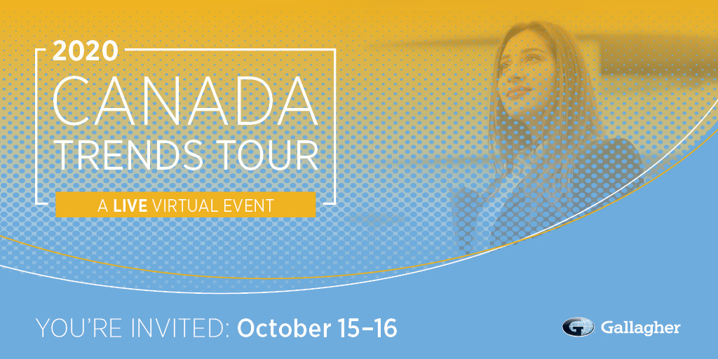 🔦Discover key elements of maintaining employer competitiveness to match your vision with strategy to build a successful future at Gallaghers Canada Trends Tour! bit.ly/3n4RlvR #CanadaTrendsTour #GallagherBetterWorks #CanadaTrendsTour2020 #Benefits