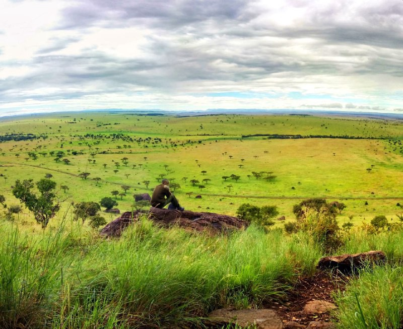 Weekends were made for hikeouts, and the scenic climb of Ololoolo escarpment in the #masaiMara rewards with breathtaking views😍. https://t.co/D20wsRhVMk