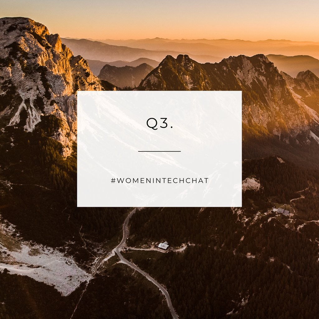 Q3. If you were to open a business, what kind of business would it be and why? #STEM #Tech #WomenWhoCode #GirlsWhoCode #WomeninIT #WomeninSTEM #Technology #WomeninTech #WomeninTechChat https://t.co/vzwUo7QjiR