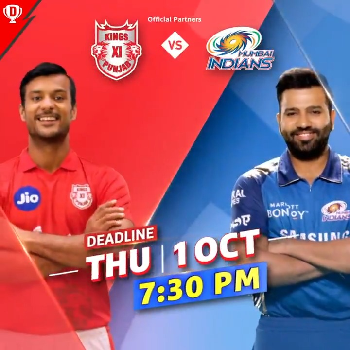 .@mayankcricket has been in sublime form this #Dream11IPL! 🔥  Will the @lionsdenkxip opener ⭐️ be your #Dream11 captain tomorrow?  #YahanSabSameHai #YeApnaGameHai #KXIPvMI @IPL @mipaltan @ImRo45