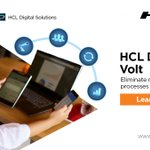 Image for the Tweet beginning: #HCLDominoVolt helps you automate painful