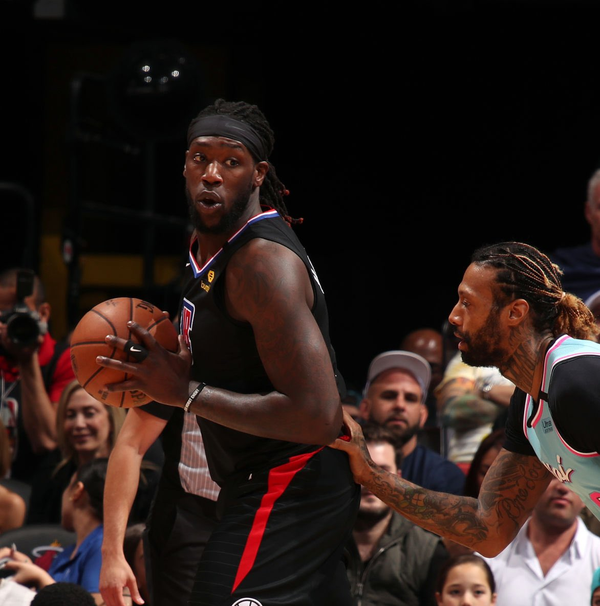 """One Eastern Conference executive suggested the Miami Heat as a possible destination for Montrezl Harrell  """"They will leave space for Giannis, but they could give [Harrell] a big one-year deal. They always figure it out.""""  (Via Eric Pincus of Bleacher Report) https://t.co/oN2cJj8oRi"""