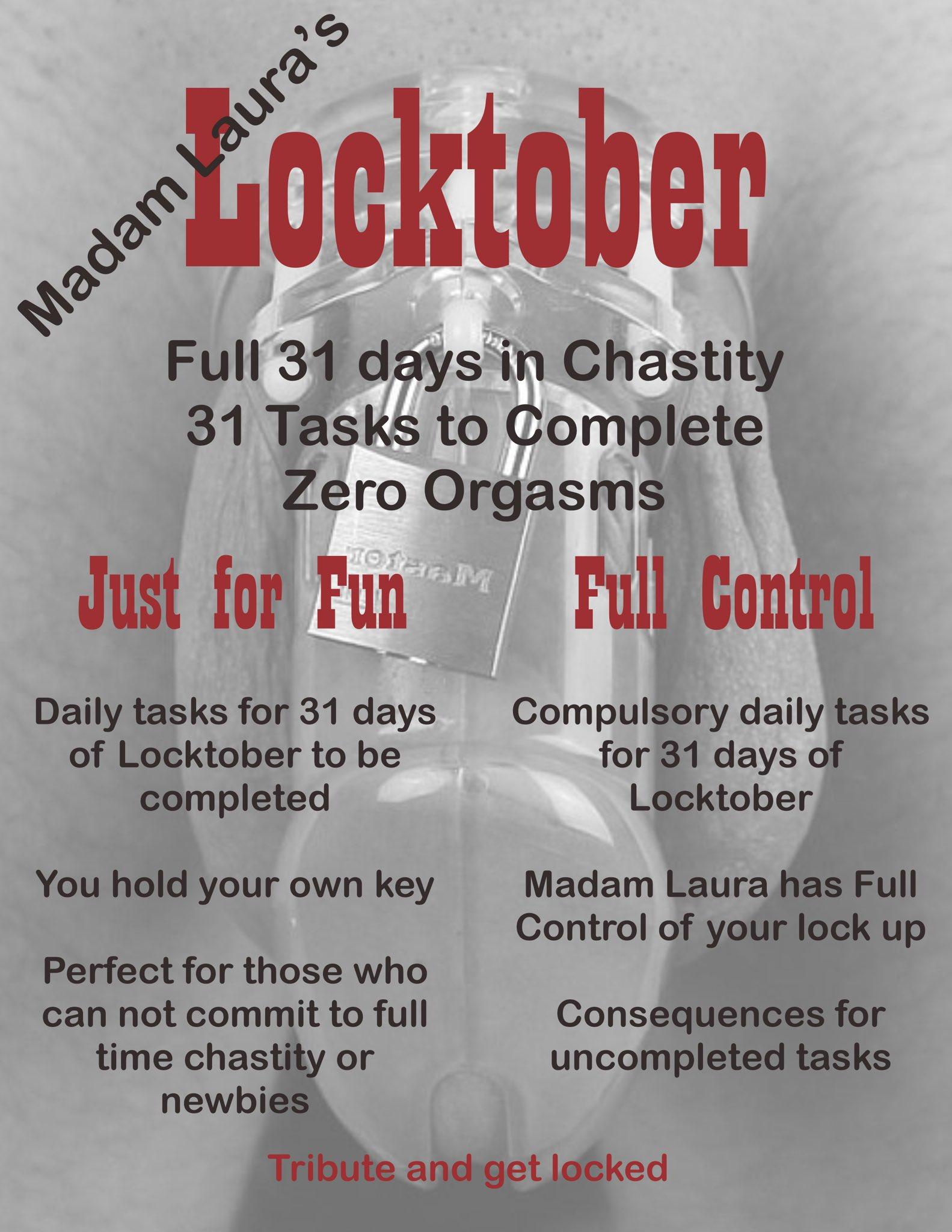 Locktober locktober 2019