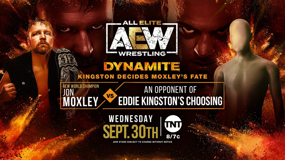 Jon Moxley Set to Face Mystery Opponent on Dynamite