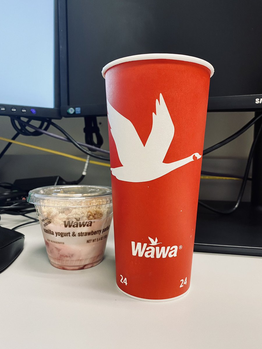 Thanks  @Wawa for making #NationalCoffeeDay that much better! Guys I recommend you download their #app ASAP #Breakfast was #Free for me today !!! #NomNomNom https://t.co/u6s19A2avg