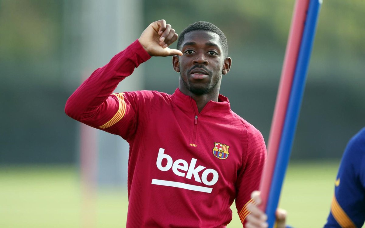 Barcelona are close to selling Dembélé to Manchester United for 50-60 million euros. [as] https://t.co/3WLdyuqoEb