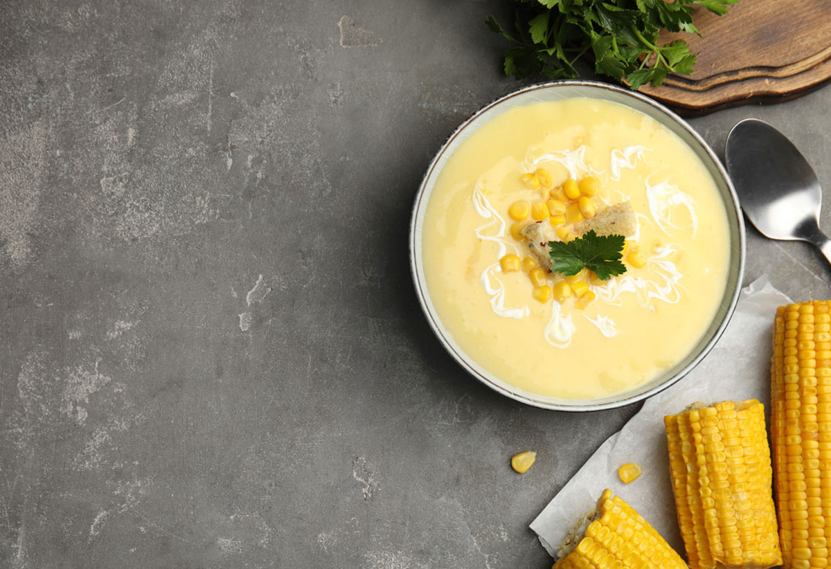 Looking for a dinner idea? #MasterChef #Recipe: Warm Corn Vichysoisse served with a Molten Cheddar Crouton https://t.co/v7XsmaiYQT #culinary #fallfood #autumn #cheese #COVALEYToday https://t.co/xflYQ3rMe2