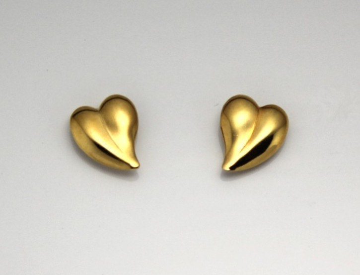 Excited to share the latest addition to my #etsy shop: 12 x 15 mm Curved Heart 14 Karat Gold Plated Magnetic Earrings https://t.co/cVD2ICFqKO #gold #valentinesday #heart #brass #earlobe #curvedheart #floatingheart #valentinegift #handmadeinusa https://t.co/TLFjRyoBgM