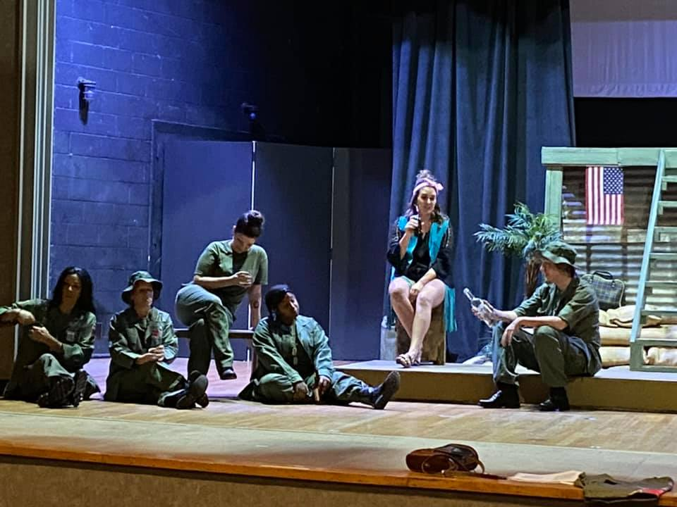 """Call (580) 223-6387 order your tickets for """"A Piece of my Heart"""". You can also order your tickets online at https://t.co/tAmD3Oyzij   PG-14 #APieceOfMyHeart  #Veterans #Vietnam #Nurses #ALTtheatre, #Arts, #ArdmoreOK, #AdventureRoad, #theatre, #liveTheatre #actors https://t.co/I6Pem2Sg2k"""